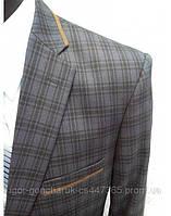 Пиджак с налокотниками Большой размер