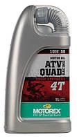 Синтетическое моторное масло для квадроциклов MOTOREX ATV QUAD RACING 4T SAE 10W/50