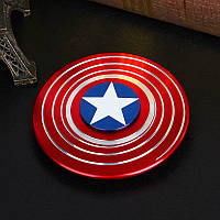 Спиннер Капитан Америка Captain America Shield Hand spinner, finger spinner Игрушка Антистресс