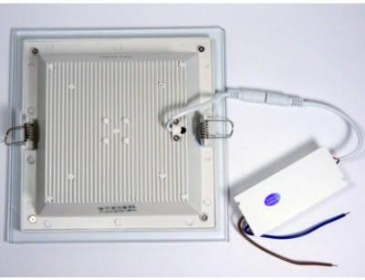 Светодиодный cветильник Feron AL2111 30W 5000K квадратный белый( потолочный, сатурн) Код.57750, фото 2