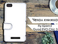 Чехол книжка для Fly IQ4413 Quad EVO Chic 3