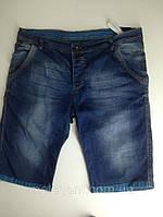 Шорты джинсовые с подворотом Большие
