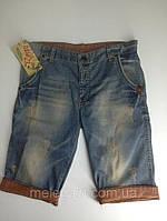 Шорты джинсовые с подворотом Турция