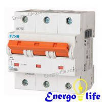 Выключатель автоматический EATON PLHT-C80/3 предотвращающий скачки напряжения в сети (арт.248039)