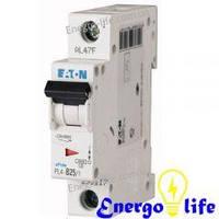 Выключатель автоматический EATON PL6 С6/1 предотвращающий скачки напряжения в сети (арт.286530)