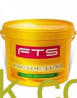 Краска фасадная акриловая FTS/ФТС Структурная Ведро 16 кг