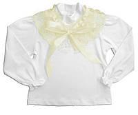 """Блуза для девочки """"Кружевной воротник"""""""
