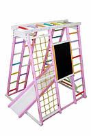 Игровой спортивный комплекс Babygrai Розовый, Фиолетовый