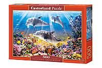 "Пазлы CASTORLAND 500 ""Dolphins Underwater"" ПЗ-51014"