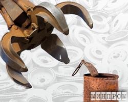 Украина: Металлолом выгоднее продавать на внутреннем рынке