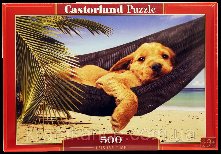 "Пазлы CASTORLAND 500 ""Leisure Time"" ПЗ-51144"