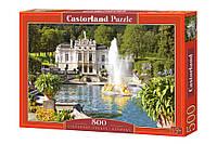 """Пазлы CASTORLAND 500 """"Linderhof Palace, Germany"""" ПЗ-51069"""