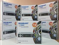 Цифровой эфирный ТВ видео тюнер приставка Т2 Romsat TR-2017HD