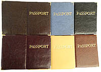 Обложка для загран паспорта из кожзаменителя