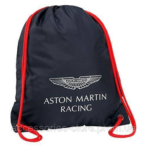 Cумка для обуви  Aston Martin Racing Drawstring Bag, navy/red