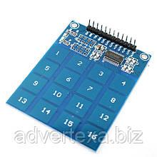 Емкостный сенсорный выключатель цифровой 16 кнопок модуль XD-62B TTP229