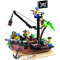 Конструктор BRICK 306 пиратский корабль