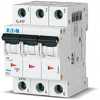 Автоматический выключатель Eaton PL4-С16 3 полюса