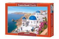 "Пазлы CASTORLAND 1500 ""Santorini. Greece"" ПЗ-150663"