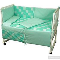 Набор в детскую кроватку 977 Клетка РУНО