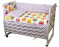 Набор в детскую кроватку 977 Совы РУНО