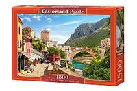 """Пазлы CASTORLAND 1500 """"The Old Town of Mostar"""" ПЗ-151387"""