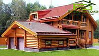 Деревянный дом. Строительство домов из дерева под ключ в Харькове, фото 1