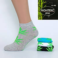 Мужские короткие носки Монтекс Petya 706M. В упаковке 12 пар