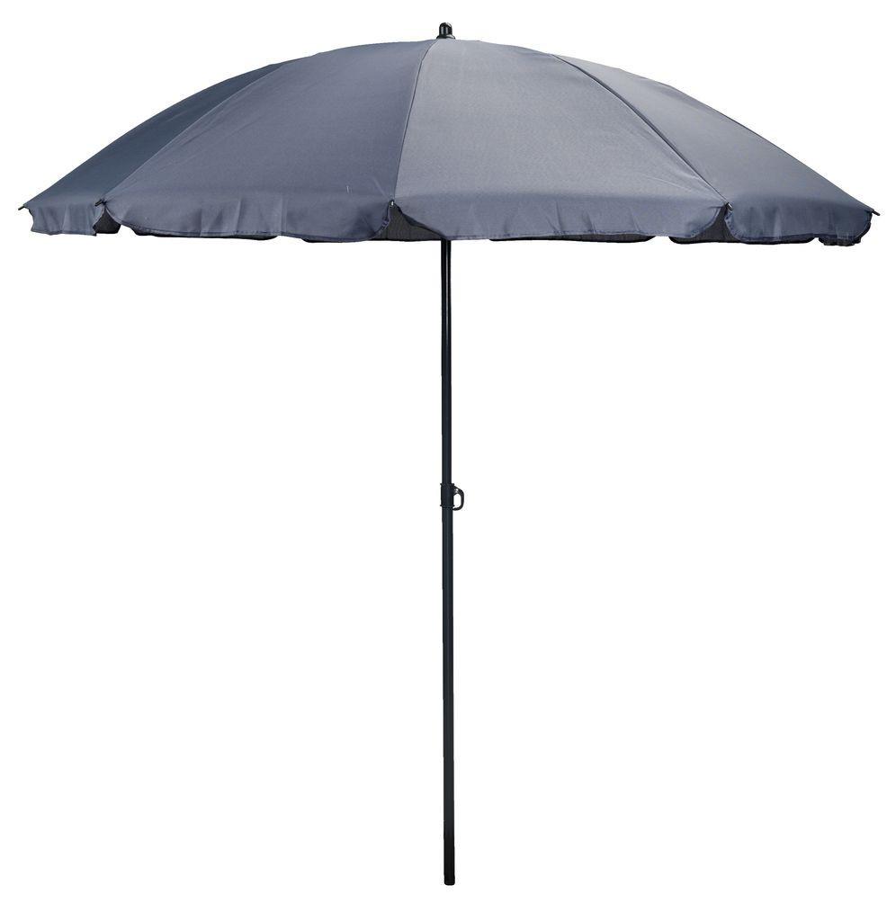 Пляжный и садовый зонтик от солнца 200 см серый