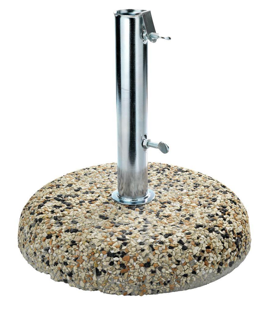 Основа (подставка) из цемента и стали для пляжного и садового зонта