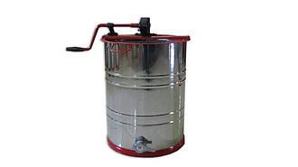 Медогонка 2-х рамочная нержавеющая с поворотными кассетами из нержавеющей стали