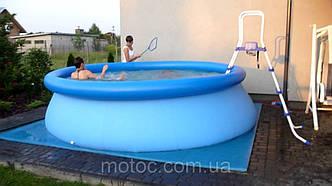 Надувной бассейн+насос-фильтр 366*91см. Летний бассейн