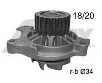 Водяной насос A6/LT/T4/Crafter 2.4D/2.5TDI (20z.)