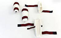 Набор защита для taekwondo WTF (предплечье+голень) белый S