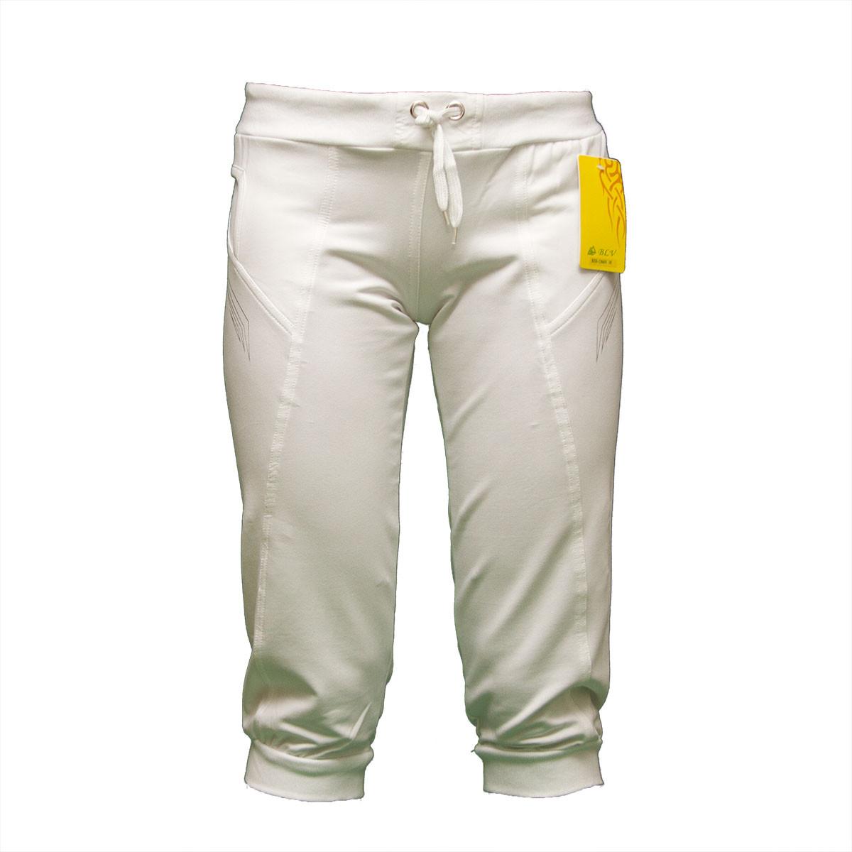 Женские белые бриджи недорого в интернет магазине BZ1366N-4