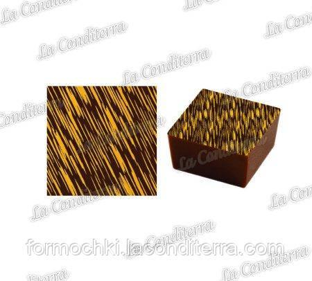 Трансферы для шоколада PAVONI SD44G (10 шт.)
