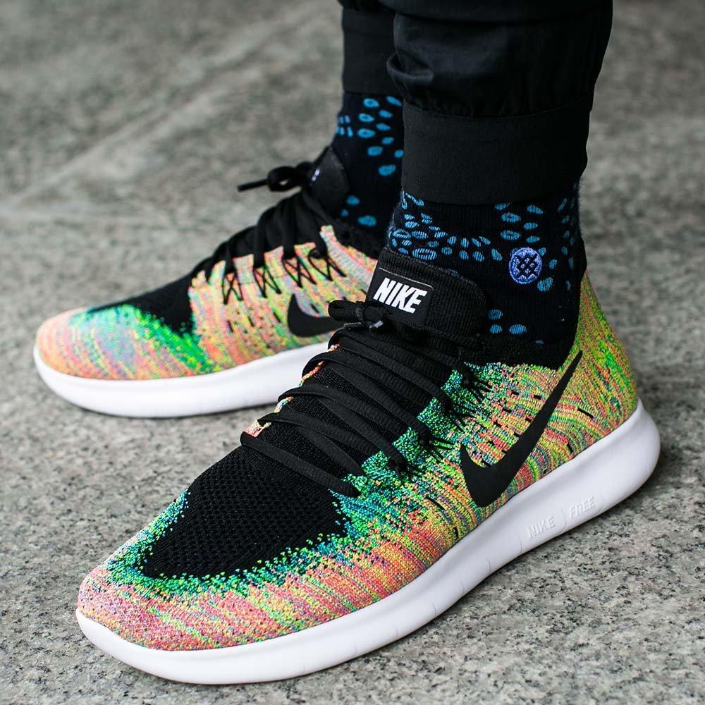 2a3a8e1e487 Оригинальные мужские кроссовки Nike Free RN Flyknit 2017