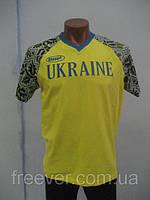 Футболка Украина  Bosco sport желтая  7015
