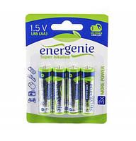 Батарейки EnerGenie EG-LR6-4BL/4
