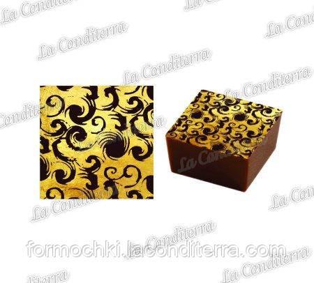 Трансферы для шоколада PAVONI DB14 (10 шт.)