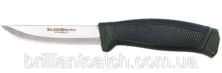 Нож Balzer с прорезиненной ручкой 22см.