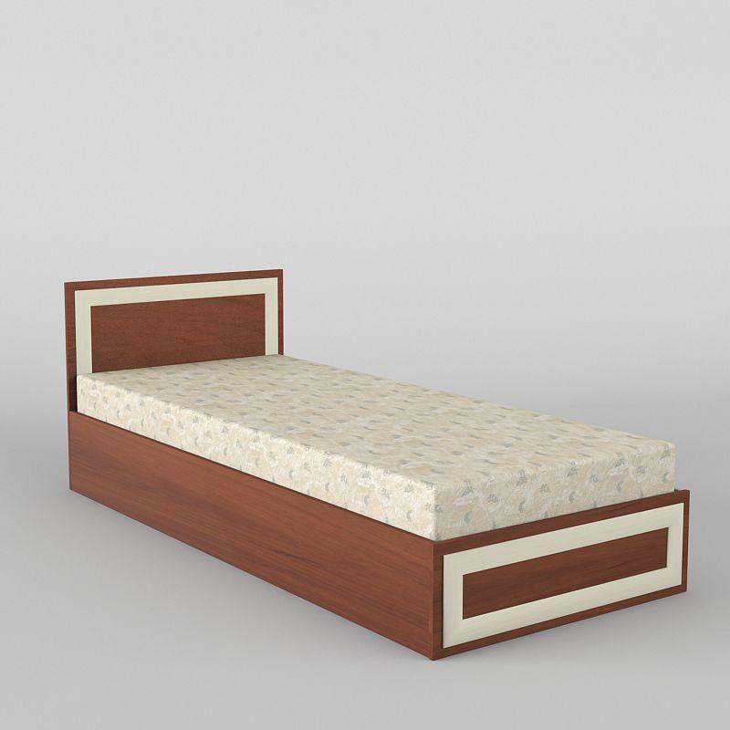 Ліжко односпальне в спальню/дитячу КР-108 Тіса меблі