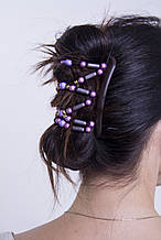 Заколка для волос African butterfly Dalena 001 черн, купить заколку