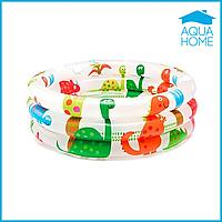 Детский надувной бассейн Intex 57106, «Динозавр» 61 х 22 см, 61 х 22 см