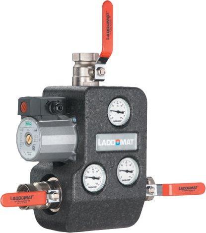 Ладдомат триходовий термосмесітельний клапан 21-100