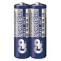Батарейка GP Powerplus 15C-S4 солевая R6 AA 2 шт в спайке