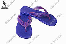 Вьетнамки женские фиолетовые ( Код : ТПЖ-01)