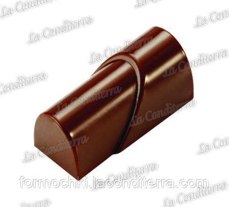 Полікарбонатна форма для шоколадних цукерок PAVONI PC02