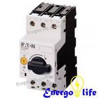 Автомат защиты двигателя EATON PKZM0-6,3 для ручного управления и аварийного отключения (арт.72738)