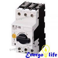 Автомат защиты двигателя EATON  PKZM0-10 для ручного управления и аварийного отключения (арт.72739)
